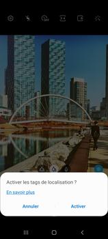 Samsung Galaxy Note 10 Lite - Photos, vidéos, musique - Créer une vidéo - Étape 5