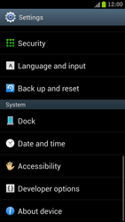 Samsung I9300 Galaxy S III - Device - Factory reset - Step 5