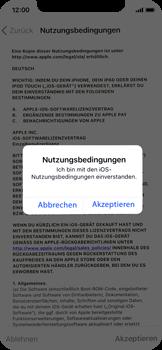 Apple iPhone X - iOS 11 - Persönliche Einstellungen von einem alten iPhone übertragen - 18 / 40