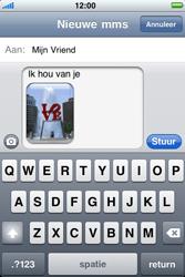 Apple iPhone 3G S - MMS - hoe te versturen - Stap 11