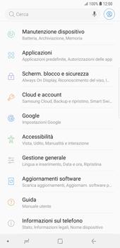 Samsung Galaxy S9 Plus - Dispositivo - Ripristino delle impostazioni originali - Fase 5