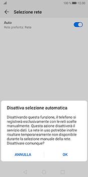 Huawei Mate 10 Pro - Android Pie - Rete - Selezione manuale della rete - Fase 7