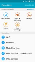 Samsung Galaxy S6 Edge - Internet et roaming de données - Comment vérifier que la connexion des données est activée - Étape 4