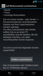 Motorola RAZR i - Fehlerbehebung - Handy zurücksetzen - 8 / 10