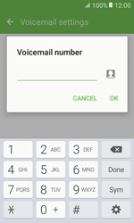Samsung G389 Galaxy Xcover 3 VE - Voicemail - Manual configuration - Step 8
