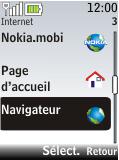 Nokia 2720 fold - Internet - Navigation sur Internet - Étape 3