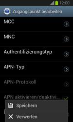 Samsung Galaxy Express - Internet und Datenroaming - Manuelle Konfiguration - Schritt 14