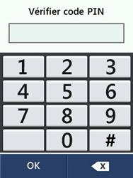 LG T580 - Sécuriser votre mobile - Personnaliser le code PIN de votre carte SIM - Étape 13