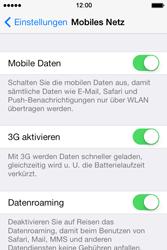 Apple iPhone 4 S mit iOS 7 - Ausland - Im Ausland surfen – Datenroaming - Schritt 7
