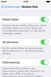 Apple iPhone 4 S - Ausland - Im Ausland surfen – Datenroaming - 0 / 0