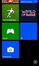 Nokia Lumia 925 - Operazioni iniziali - Personalizzazione della schermata iniziale - Fase 5