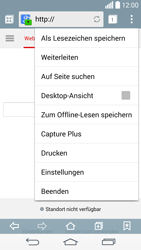 LG G3 - Internet und Datenroaming - Verwenden des Internets - Schritt 17