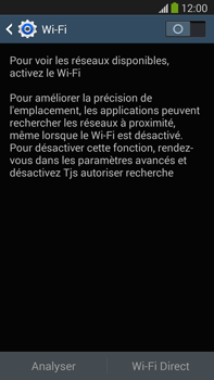 Samsung N9005 Galaxy Note III LTE - Wifi - configuration manuelle - Étape 4