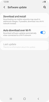 Samsung Galaxy S9 - Android Pie - Software - Installing software updates - Step 6