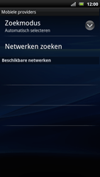 Sony Ericsson Xperia Arc S - Buitenland - Bellen, sms en internet - Stap 8