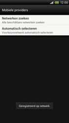 HTC S720e One X - netwerk en bereik - gebruik in binnen- en buitenland - stap 10
