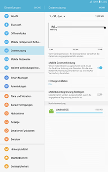 Samsung Galaxy Tab A 10.1 - Internet - Apn-Einstellungen - 0 / 0