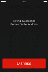 Apple iPhone 4 S - iOS 7 - SMS - Manual configuration - Step 7