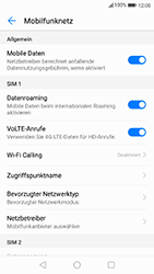 Huawei P10 - Android Oreo - Ausland - Auslandskosten vermeiden - Schritt 7
