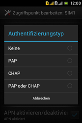 Sony Xperia Tipo Dual - MMS - Manuelle Konfiguration - 0 / 0