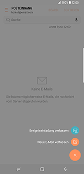 Samsung Galaxy S8 Plus - E-Mail - E-Mail versenden - 6 / 19