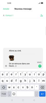 Oppo Find X2 Lite - Contact, Appels, SMS/MMS - Envoyer un MMS - Étape 20