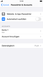 Apple iPhone 7 - iOS 13 - E-Mail - Manuelle Konfiguration - Schritt 25