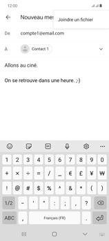 Samsung Galaxy Note20 - E-mails - Envoyer un e-mail - Étape 11