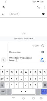 Huawei P30 lite - Contact, Appels, SMS/MMS - Envoyer un MMS - Étape 9