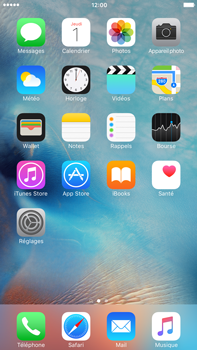 Apple iPhone 6 Plus iOS 9 - Solution du problème - Applications - Étape 1