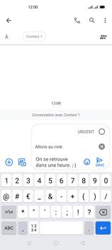Oppo Reno 4Z - Contact, Appels, SMS/MMS - Envoyer un MMS - Étape 14