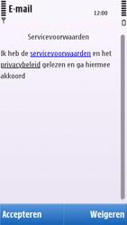Nokia C6-00 - E-mail - Handmatig instellen - Stap 12