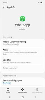 Samsung Galaxy Note 20 5G - Apps - Eine App deinstallieren - Schritt 6