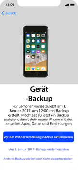 Apple iPhone X - iOS 11 - Persönliche Einstellungen von einem alten iPhone übertragen - 16 / 40