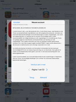 Apple iPad mini iOS 9 - Applicaties - Account aanmaken - Stap 10