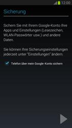 Samsung Galaxy Note 2 - Apps - Konto anlegen und einrichten - 13 / 15