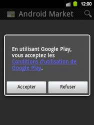 Samsung Galaxy Y - Applications - Configuration de votre store d