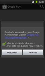 Samsung Galaxy S - Apps - Konto anlegen und einrichten - 19 / 21