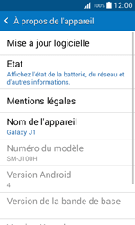 Samsung J100H Galaxy J1 - Appareil - Mises à jour - Étape 6