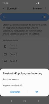 Samsung Galaxy S10 Plus - Bluetooth - Geräte koppeln - Schritt 10