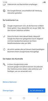 Samsung Galaxy Note 10 Plus 5G - Apps - Einrichten des App Stores - Schritt 14