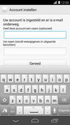 Huawei Ascend P7 - E-mail - Account instellen (POP3 zonder SMTP-verificatie) - Stap 20
