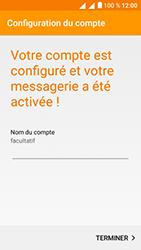 Alcatel U5 - E-mails - Ajouter ou modifier votre compte Outlook - Étape 12