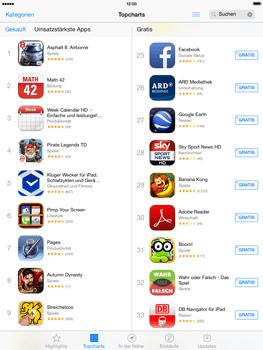 Apple iPad mini iOS 7 - Apps - Einrichten des App Stores - Schritt 4