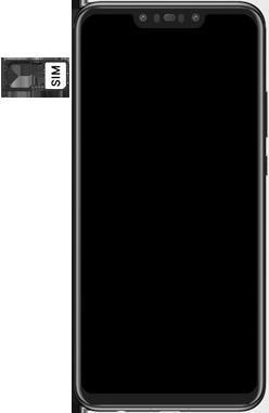 Huawei Nova 3 - SIM-Karte - Einlegen - Schritt 5