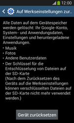Samsung Galaxy Core Plus - Fehlerbehebung - Handy zurücksetzen - 8 / 11
