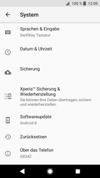 Sony Xperia XZ1 - Gerät - Zurücksetzen auf die Werkseinstellungen - Schritt 5