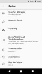 Sony Xperia XZ1 Compact - Fehlerbehebung - Handy zurücksetzen - 0 / 0