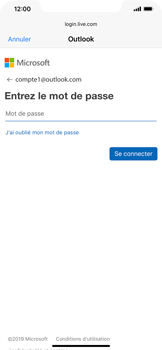 Apple iPhone 11 - E-mail - 032c. Email wizard - Outlook - Étape 7