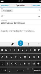 BlackBerry Leap - E-mail - E-mail versturen - Stap 11